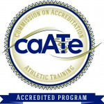 CAATE Seal for accredited program