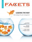 FACETS Magazine Cover with fish