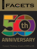 FACETS 50th Anniversary Magazine Cover