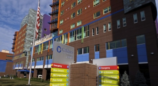 Exterior view of Children's Hospital of UPMC