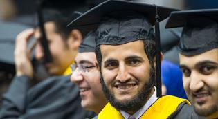 International Student at Graduation