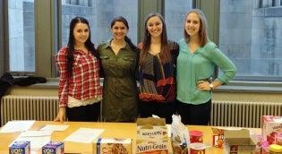 Nutrition Students Snack Presentation