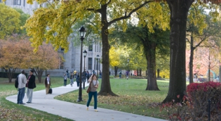 Pitt students on campus
