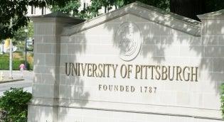 Pitt Campus sign