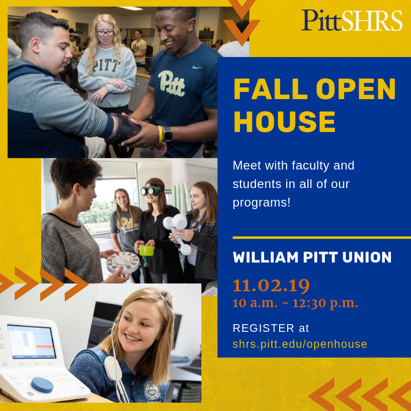 Fall Open House ad