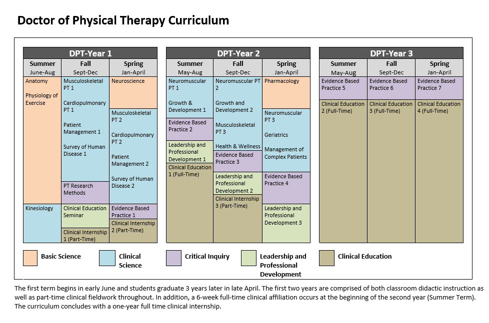 DPT Curriculum Graph (download through link)