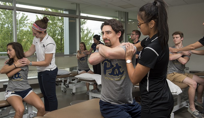 Dept Of Physical Therapy Overview University Of Pittsburgh School