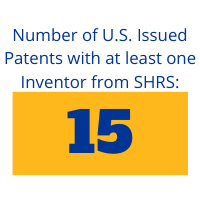 Number of U.S. Issued Patents with at least one inventor from SHRS: 15