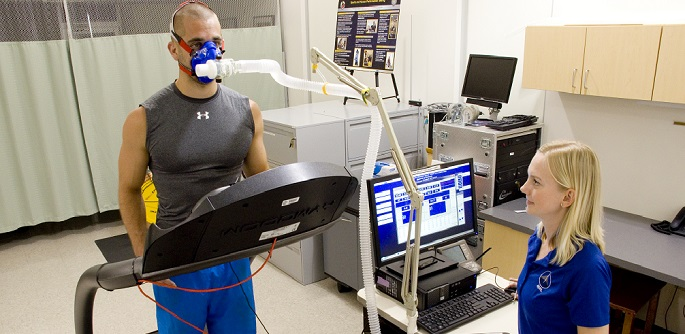 Treadmill Maximal Oxygen Uptake Test