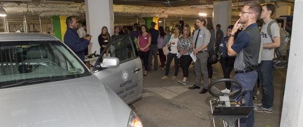 Adaptive Driving Class at Pitt